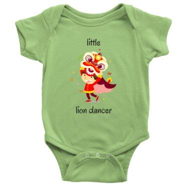 Little Lion Dancer Onesie