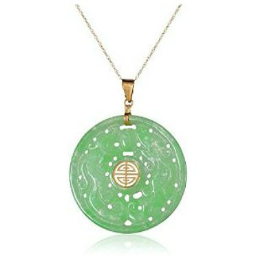 Jade Good Fortune Pendant Necklace