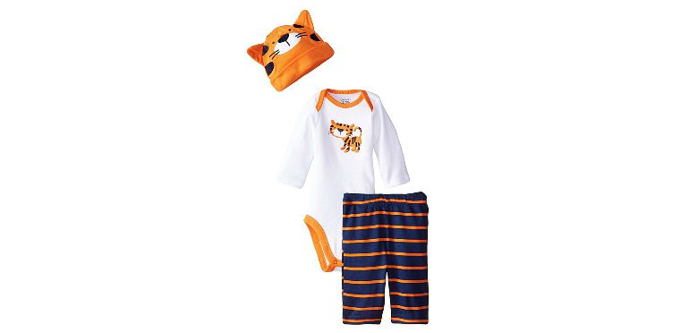 3 Piece Newborn Tiger Set