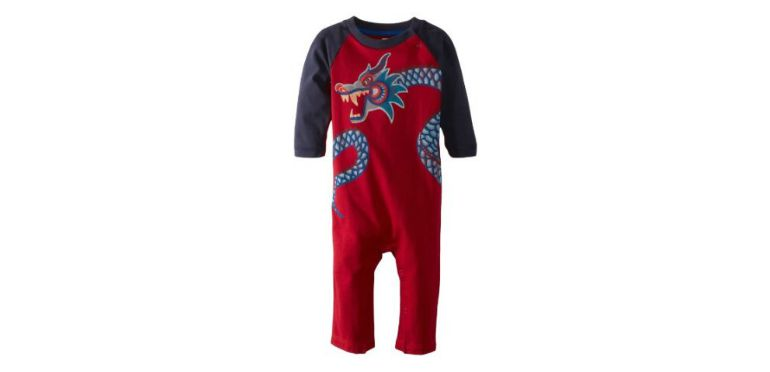 Long Sleeve Dragon Romper