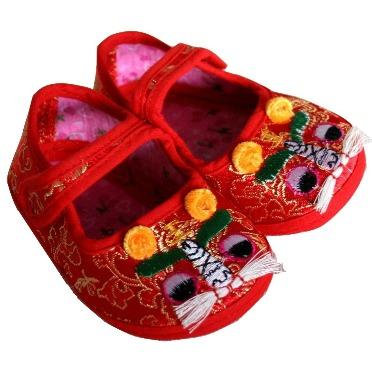 Handmade Tiger Head Shoes