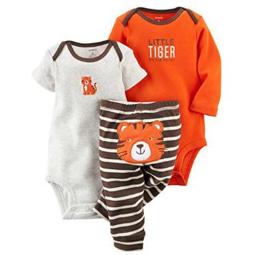3 Piece Newborn Tiger Set
